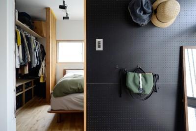 『世代を超えて』 ― 築古戸建に手間ひまかけて (寝室)
