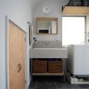 『世代を超えて』 ― 築古戸建に手間ひまかけての写真 洗面室