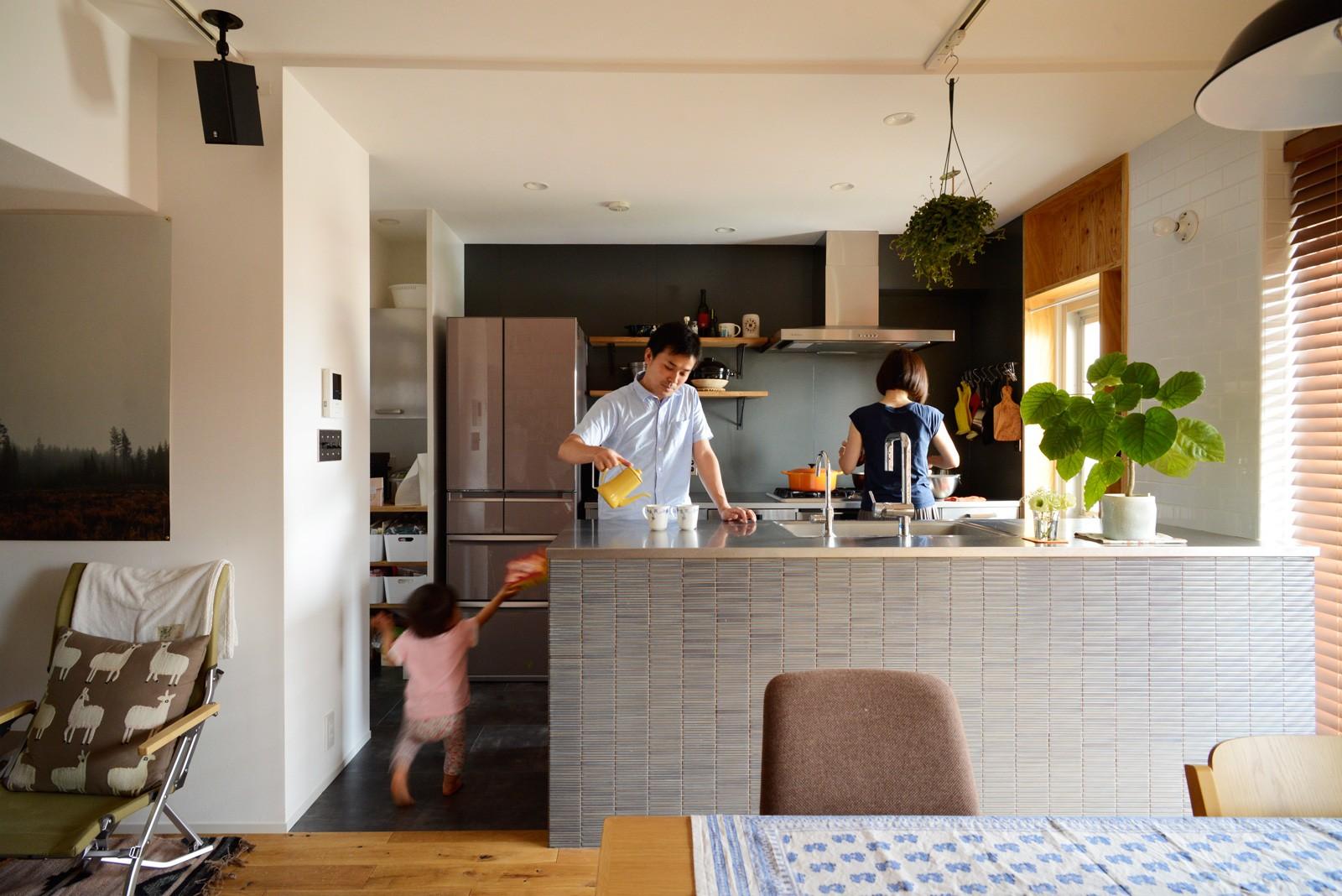 キッチン事例:キッチン(『grow』 ― たしかなこと)