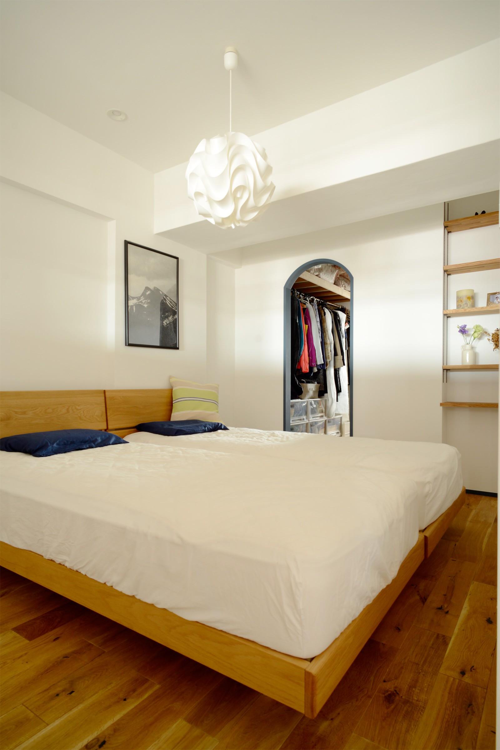 ベッドルーム事例:寝室(『grow』 ― たしかなこと)