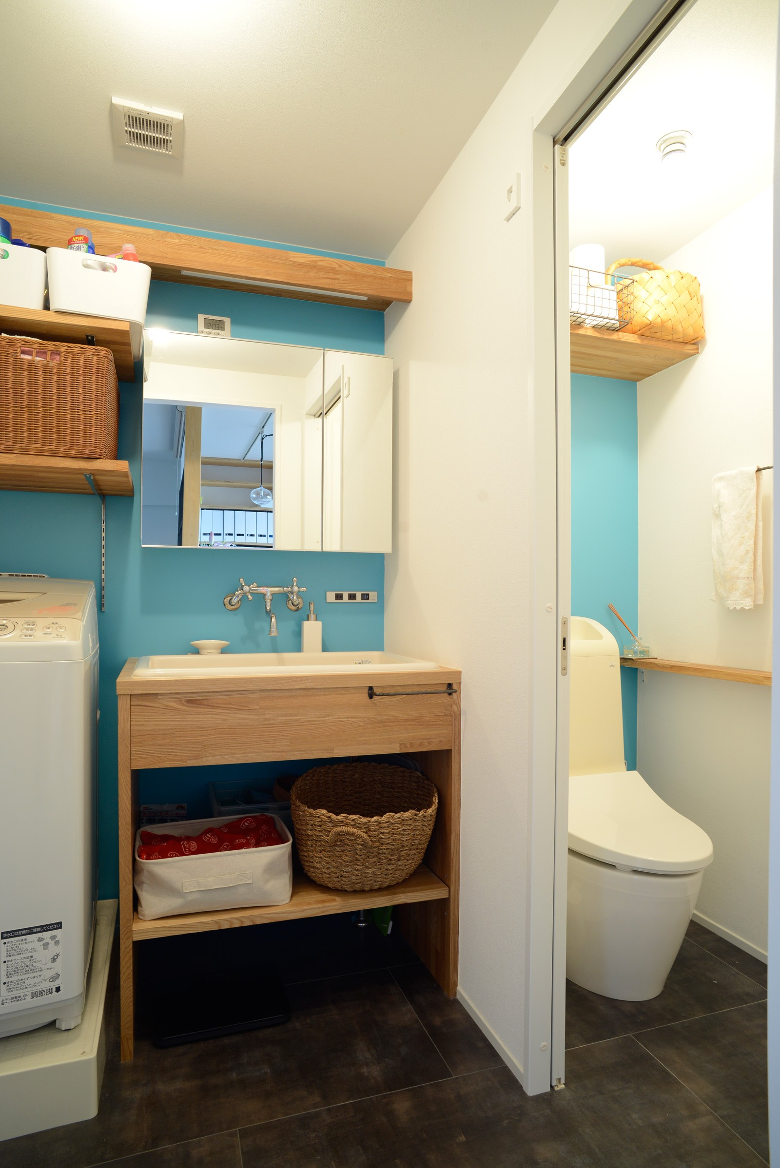 バス/トイレ事例:洗面室(『grow』 ― たしかなこと)