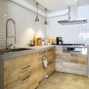 『Avenue』 ― 家族に優しい家の写真 キッチン