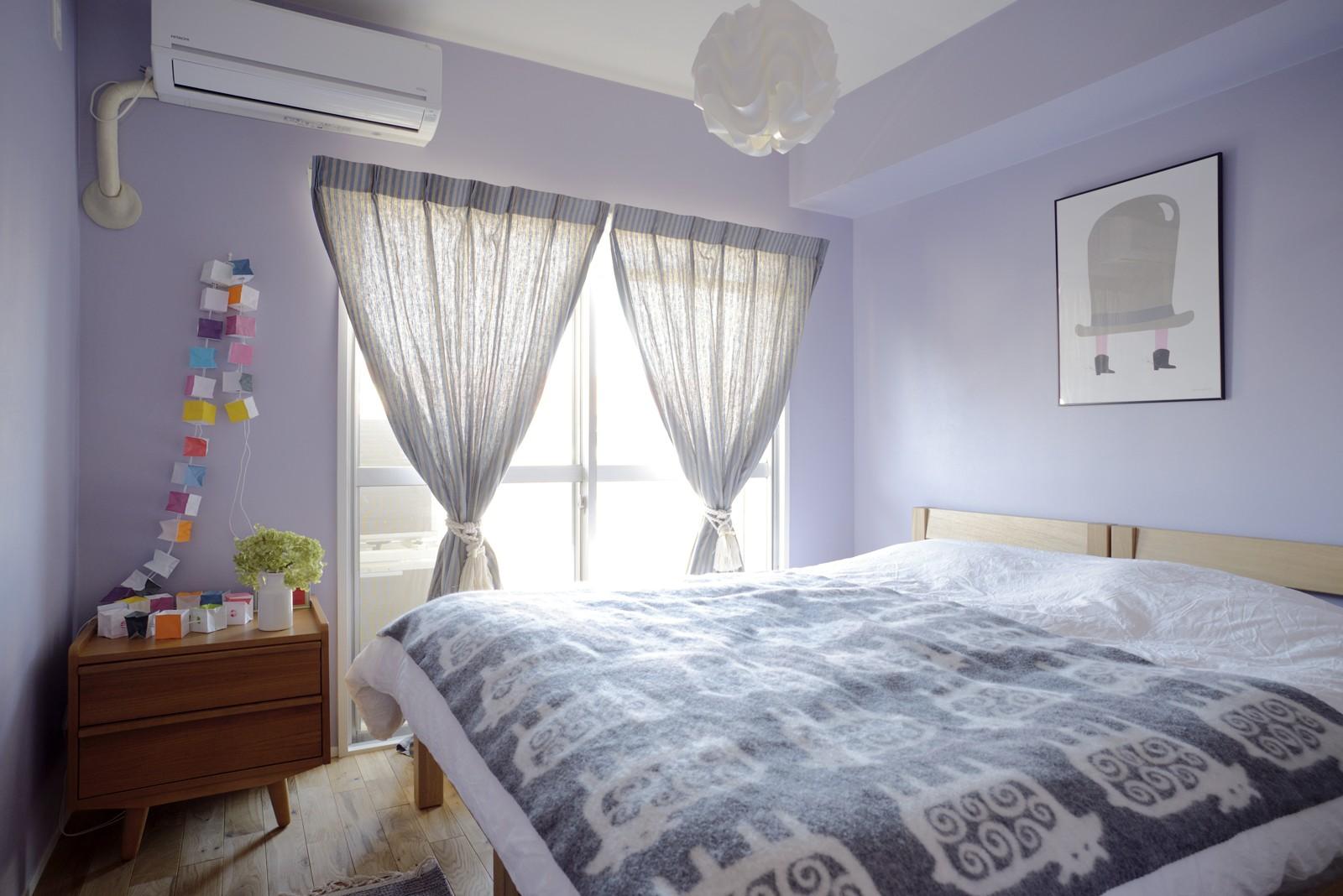 ベッドルーム事例:寝室(『Avenue』 ― 家族に優しい家)