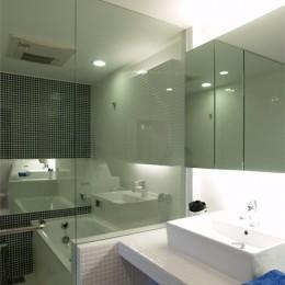 TILT-ちょっと斬新な空間を上手に仕切る工夫 (バスルーム)