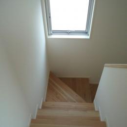 3-BOX 1800万円の家 (階段)