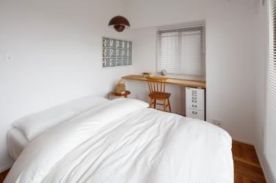 寝室 (『a new day』 ― むだなく、シンプルに。)