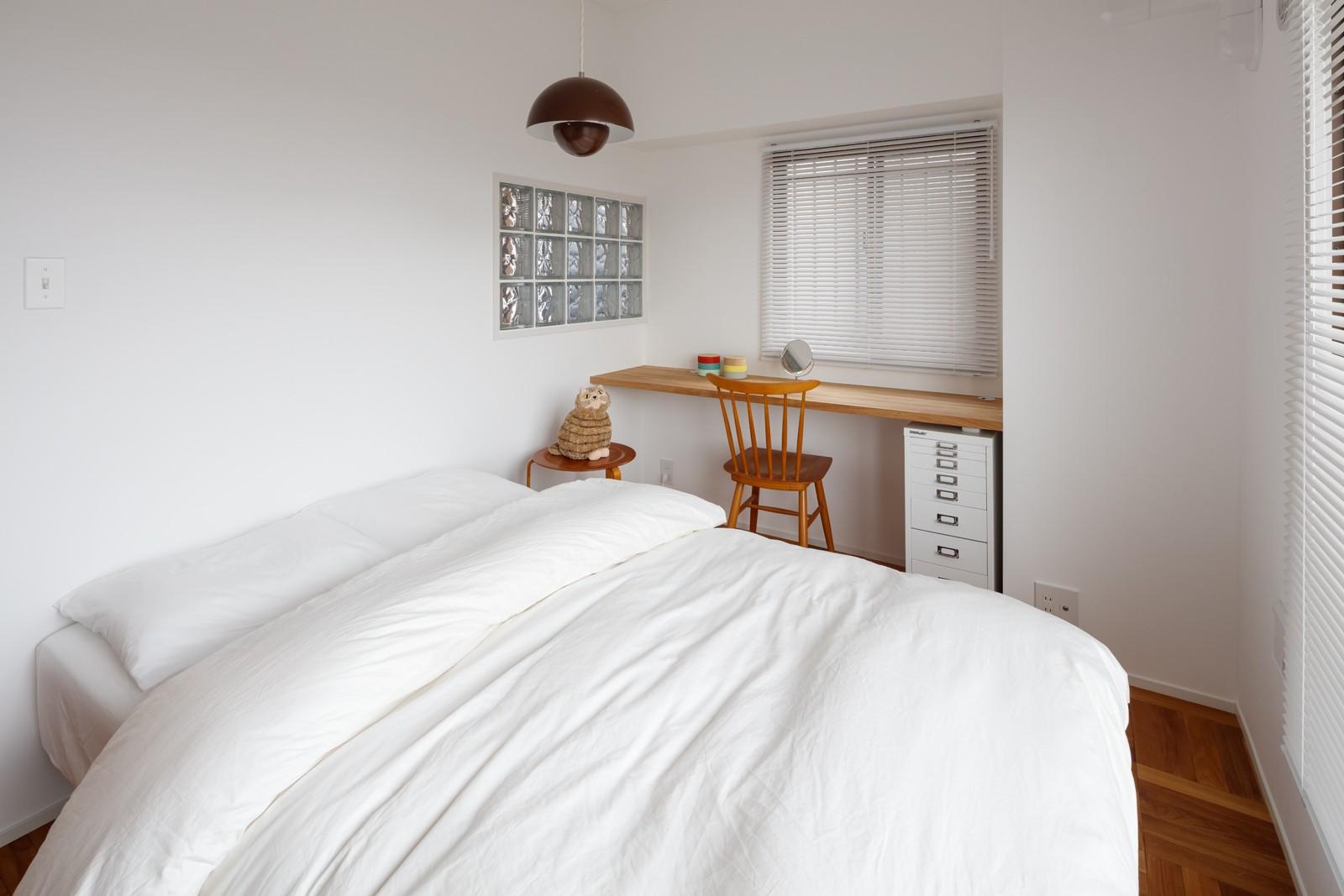 ベッドルーム事例:寝室(『a new day』 ― むだなく、シンプルに。)