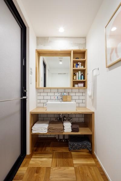 洗面室 (『a new day』 ― むだなく、シンプルに。)