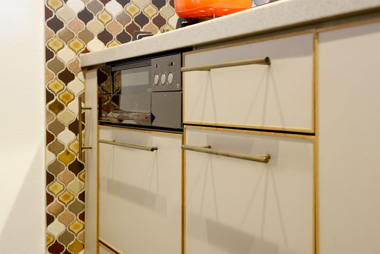 キッチン事例:キッチン(『Art Denmark』 ― ふたりの「好き」を取り入れて)
