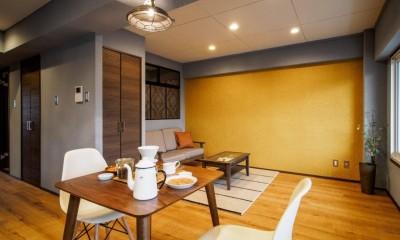 築40年のマンションをカルフォルニア風インテリアリノベーション