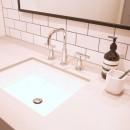 M邸の写真 シンプルで無駄のない洗面台