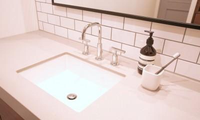 M邸 (シンプルで無駄のない洗面台)
