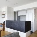 大人シックな空間を存分に楽しむの写真 キッチン