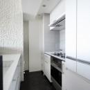 大人シックな空間を存分に楽しむの写真 Ⅱ型キッチン
