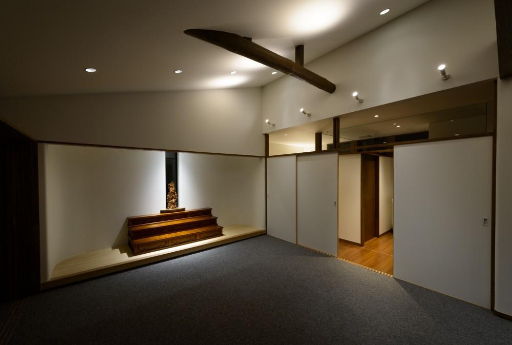 教室・集会室 (リフォーム・リノベーション(築50年の住宅を小さな式場に))