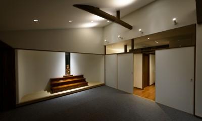 リフォーム・リノベーション(築50年の住宅を小さな式場に) (教室・集会室)