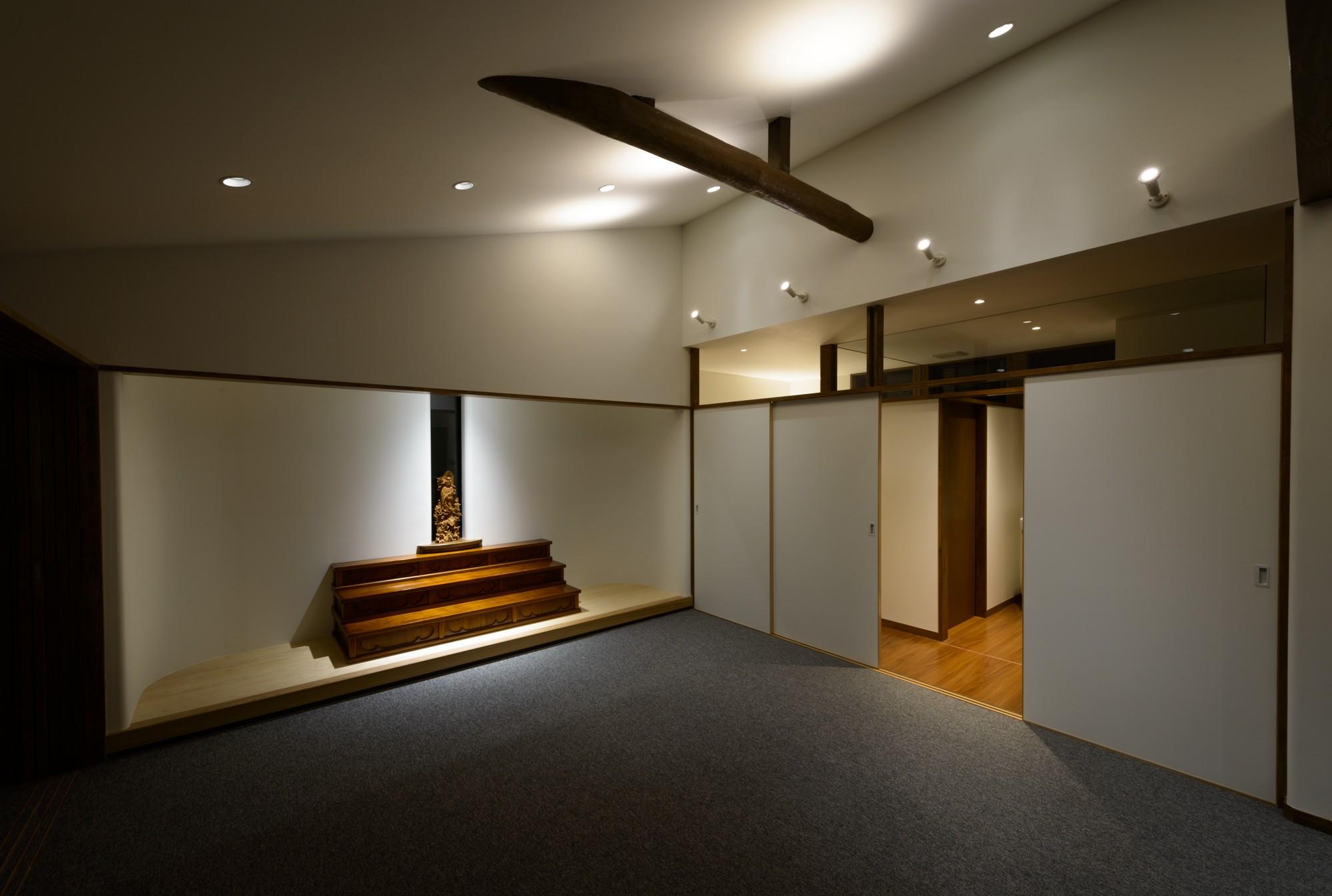 その他事例:教室・集会室(リフォーム・リノベーション(築50年の住宅を小さな式場に))