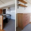 『solid.』 ― 素材の表情を活かすの写真 キッチン