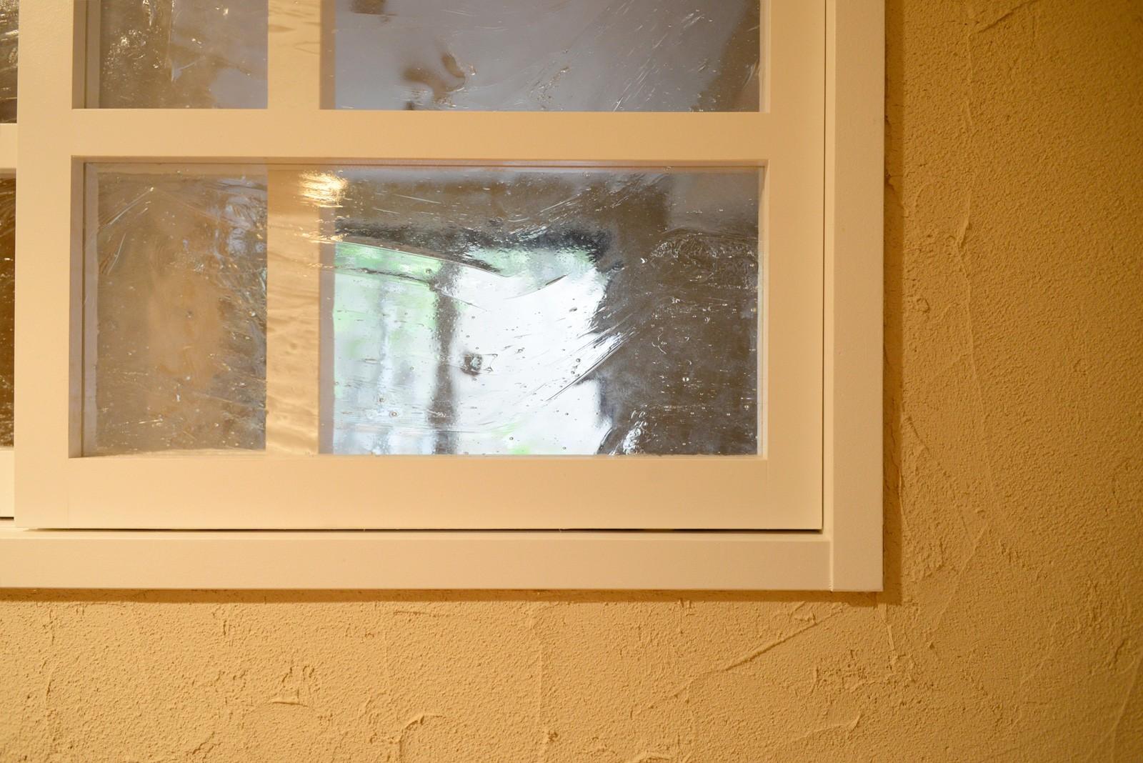 リビングダイニング事例:室内窓(『Session!』 ― 家族の三和音)