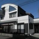 愛知県愛西市 K様邸 外壁塗装工事の写真 外壁塗装工事 玄関壁