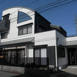 愛知県愛西市 K様邸 外壁塗装工事