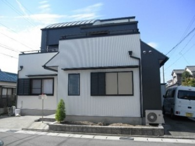 外壁塗装工事 (愛知県愛西市 K様邸 外壁塗装工事)
