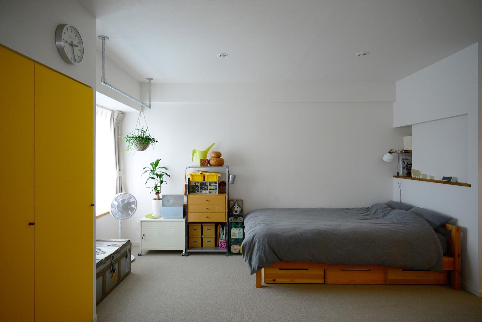 ベッドルーム事例:寝室(『JIBES』 ― 変えないリノベーション)