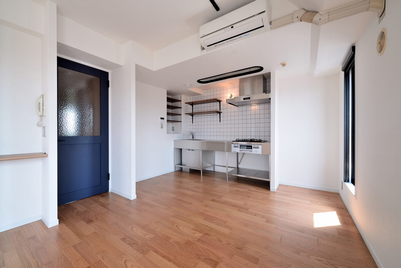キッチン事例:キッチン(ヴィンテージ×無機質の甘辛MIXリノベーション住まい)