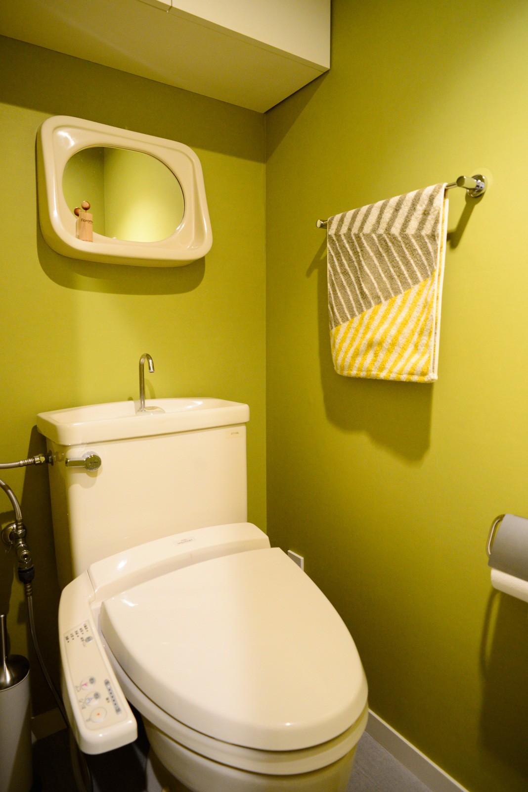 バス/トイレ事例:トイレ(『JIBES』 ― 変えないリノベーション)