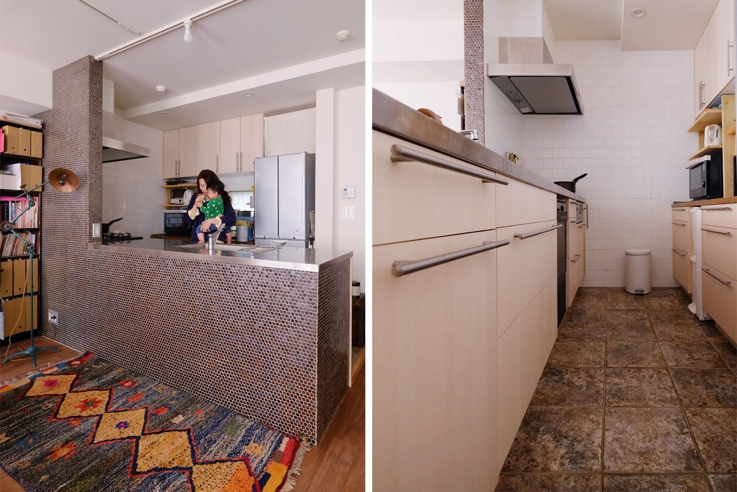キッチン事例:キッチン(『antique』 ― 銘品にふさわしく)