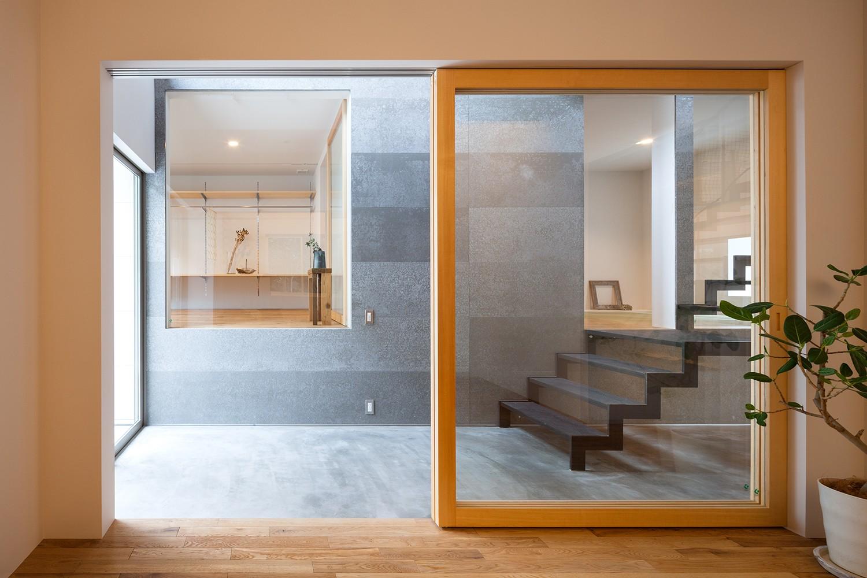ベッドルーム事例:1階個室(代沢戸建てリノベーションPJ)