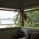 野尻湖の小さな家の写真 リビングダイニング