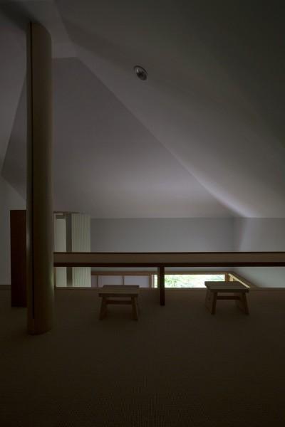 ロフト (野尻湖の小さな家)