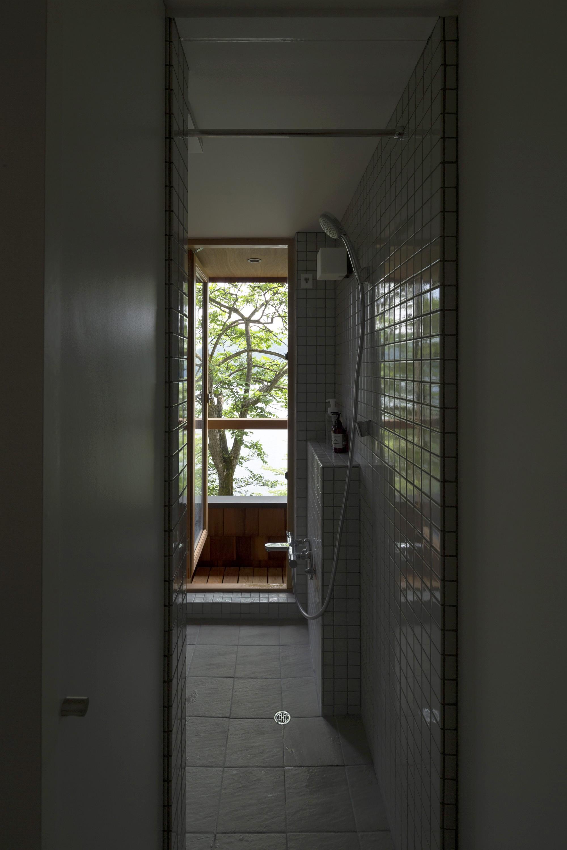 バス/トイレ事例:浴室(野尻湖の小さな家)