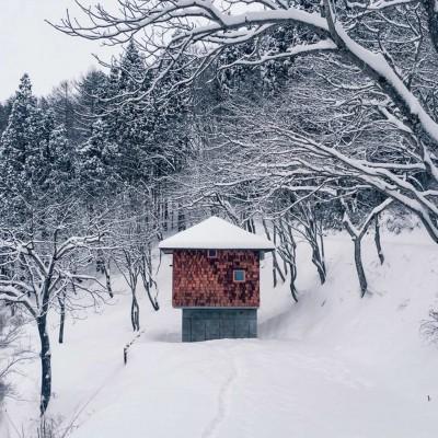 野尻湖の小さな家 (外観)