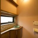 カンツリー倶楽部  「調整区域に建てた家」の写真 1階トイレ