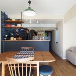 『gron kaffe』 ― カフェのようなLDK (LDK)