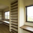 カンツリー倶楽部  「調整区域に建てた家」の写真 2階洋室