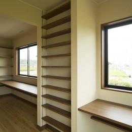 カンツリー倶楽部  「調整区域に建てた家」 (2階洋室)