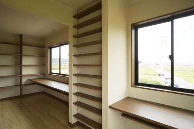 2階洋室 (カンツリー倶楽部  「調整区域に建てた家」)