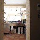 『gron kaffe』 ― カフェのようなLDKの写真 キッチン