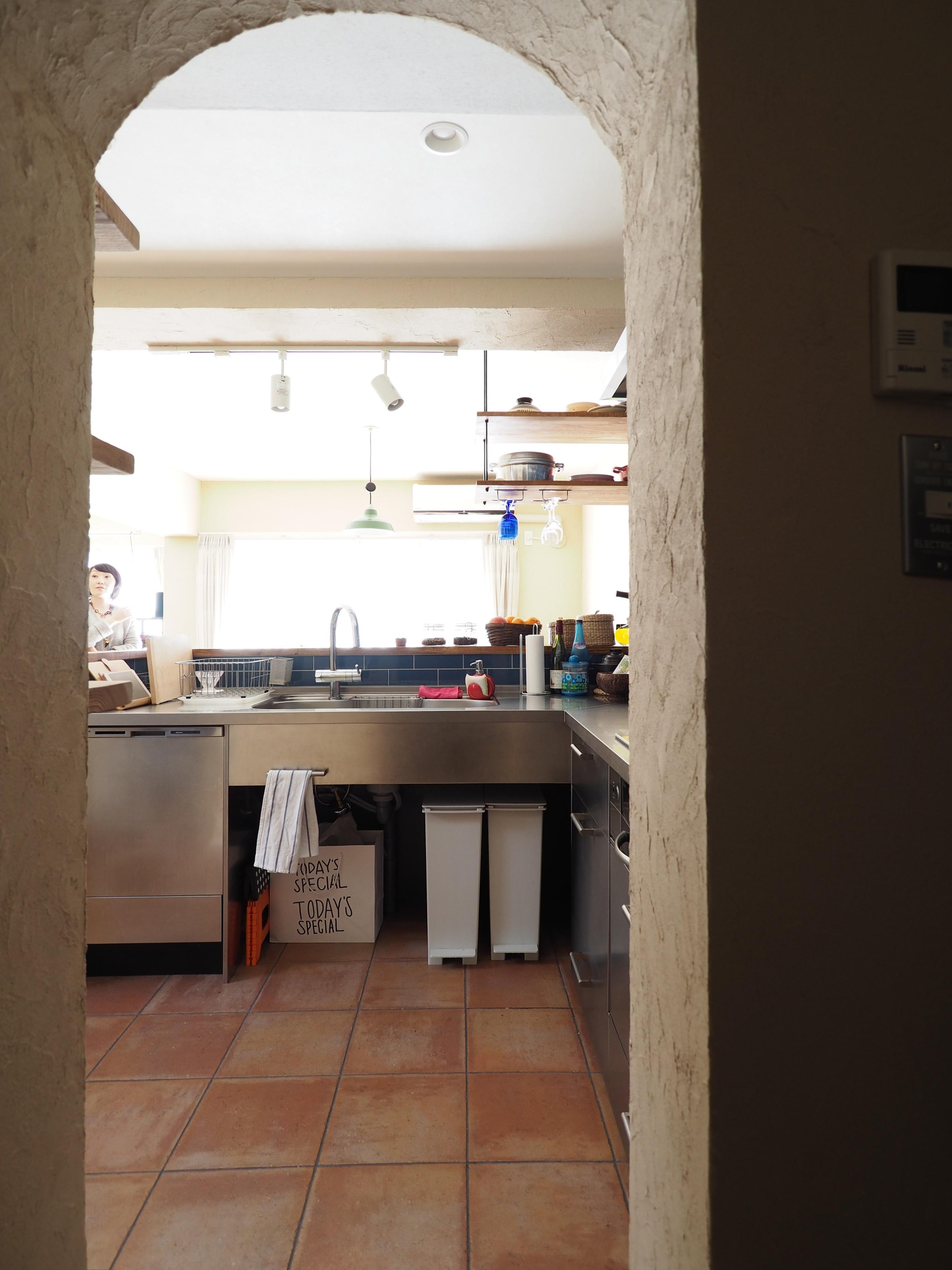 キッチン事例:キッチン(『gron kaffe』 ― カフェのようなLDK)