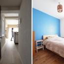 『gron kaffe』 ― カフェのようなLDKの写真 寝室