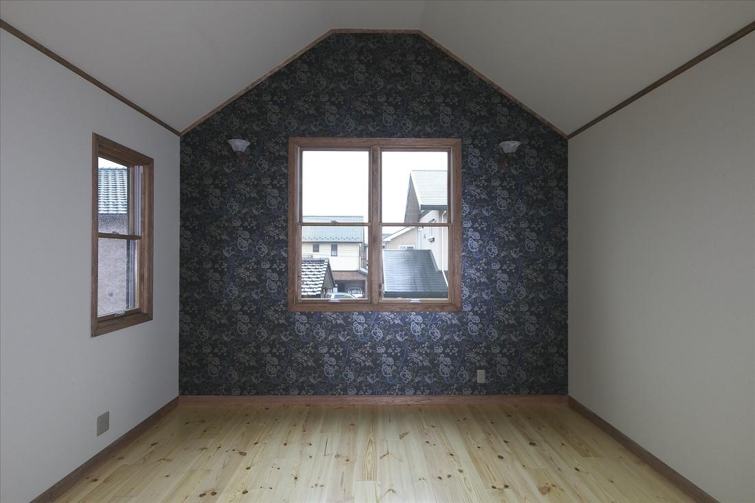 ベッドルーム事例:2階寝室(ザ・英国)