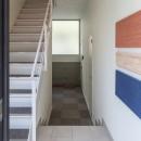 変形地に建つ共同住宅の写真 意外に人気な屋内共用階段