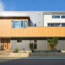 大きなビルトインガレージのある家 埼玉県所沢市・S邸の写真 外観