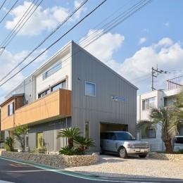 大きなビルトインガレージのある家 埼玉県所沢市・S邸