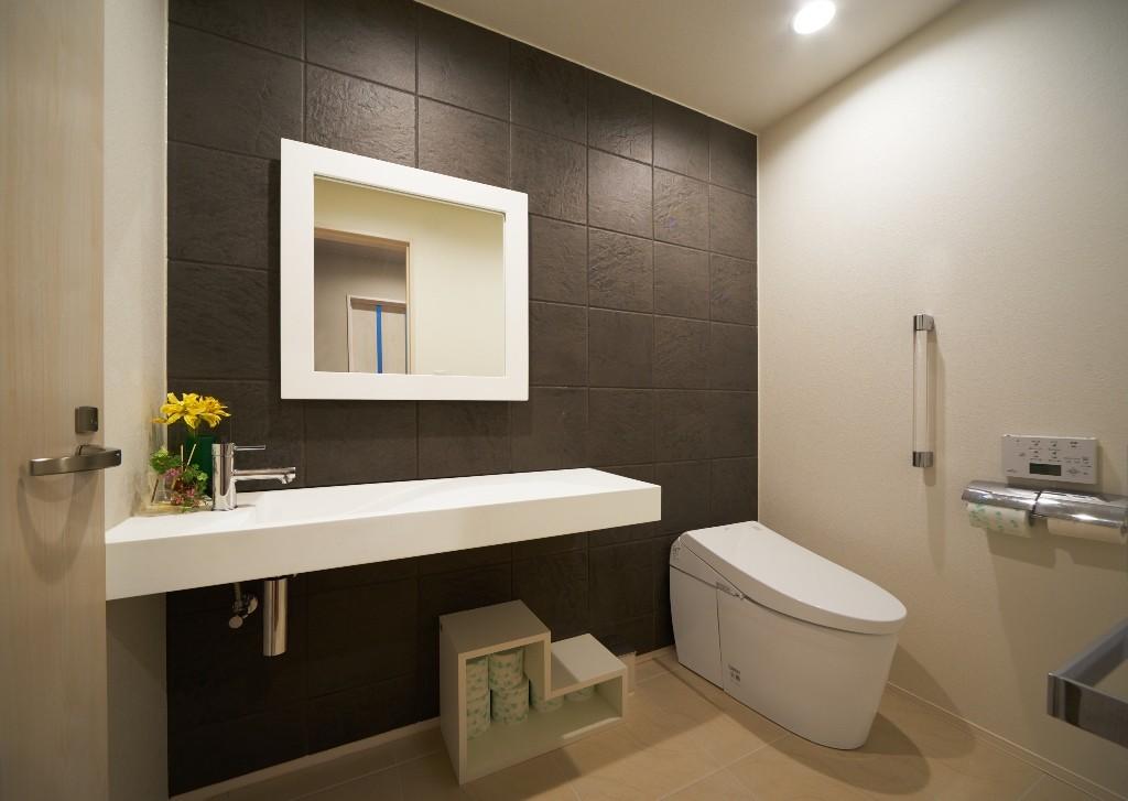 バス/トイレ事例:トイレ(大きなビルトインガレージのある家 埼玉県所沢市・S邸)