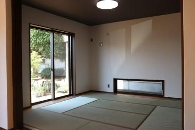 古材を使ったサーファーズハウス 埼玉県日高市・T邸 (和室)