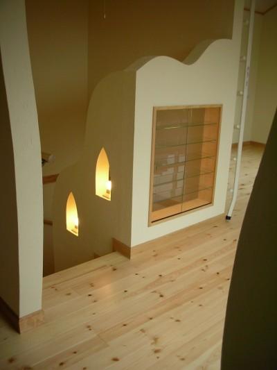 階段 (オー・カルカッタ・ヒンズースタイルの家)